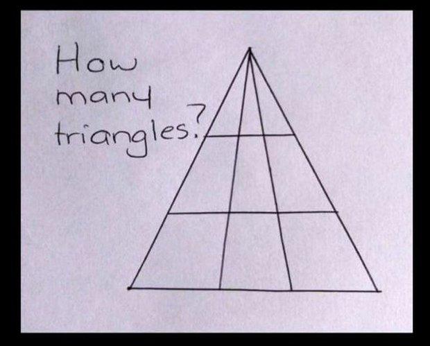 hlavolam - trojúhelníky Foto: