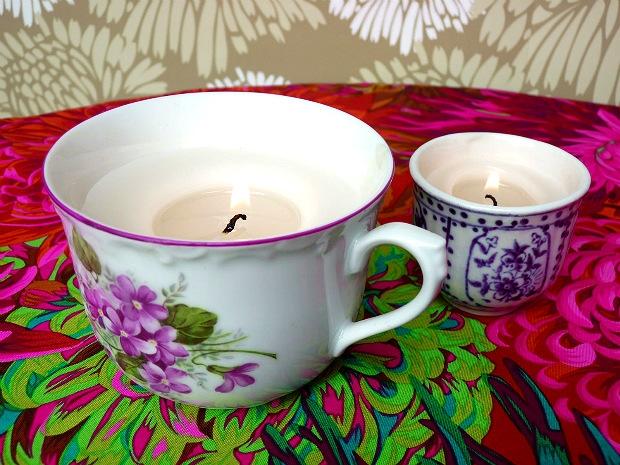 Hrnečkové svíčky  Foto: Eva Trávníčková