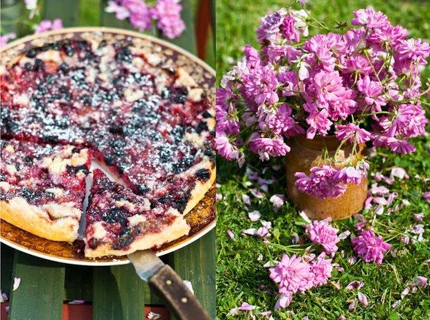 Zahradní koláč Foto: Sweet pixel blog