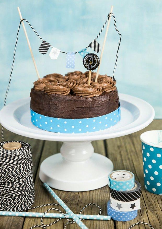 Pivní čokoládový dort Foto: