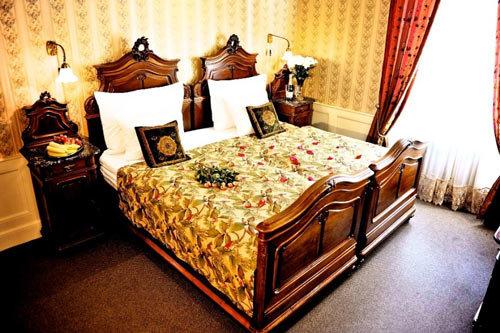 Pokoj pro zamilované v pražském hotelu Foto: