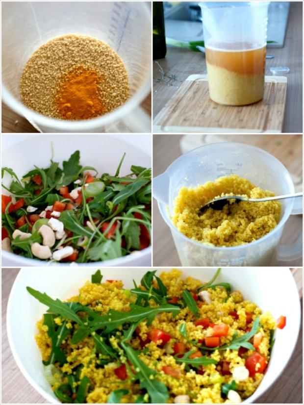 Krůtí plátky s kuskusovým salátem a paprikovou omáčkou 4 Foto: