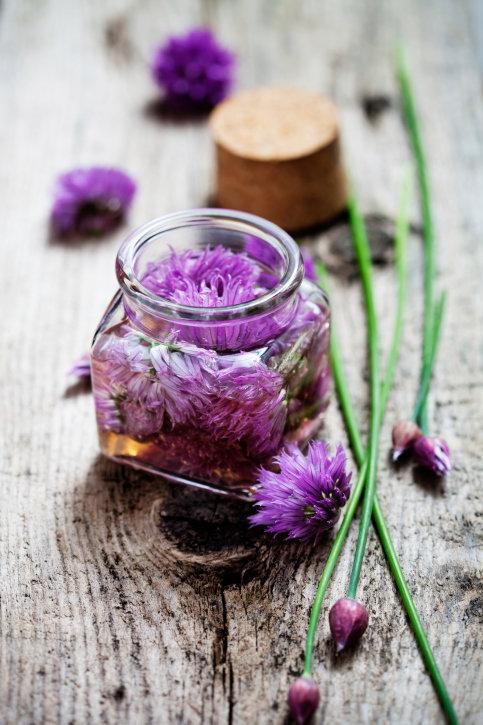 Pažitkové květy 3 Foto: