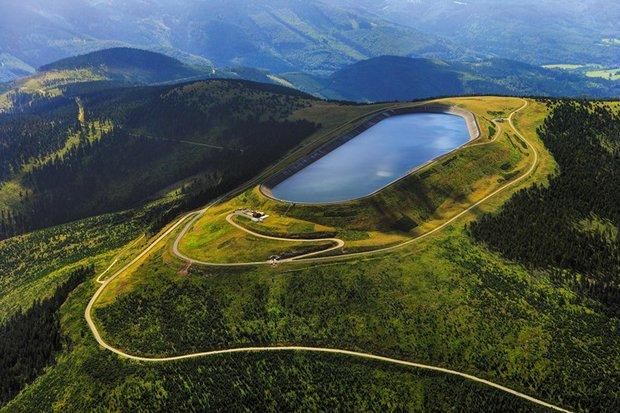 Přečerpávací vodní elektrárna Dlouhé Stráně - jeden ze 7 divů Česka Foto: