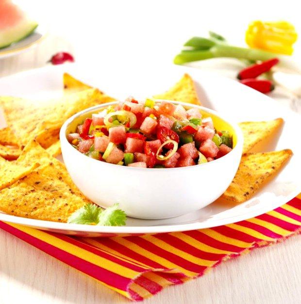 Ohnivo-ledová salsa s melounem  Foto: