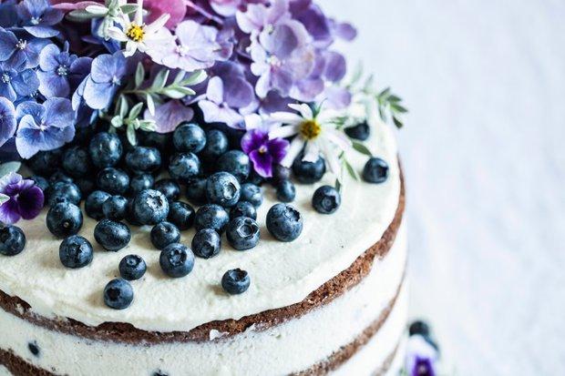 Borůvkovo-citrónový letní dort 2 Foto: