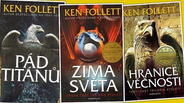 Knižní trilogie, které stojí za přečtení follett Foto: