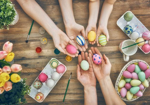 barvení vajíček Foto: