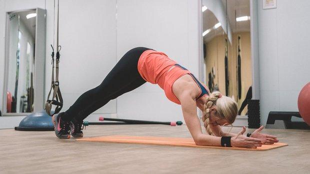 Velký speciál: Zhubněte a dostaňte se do formy #1 planke ne Ě Foto: