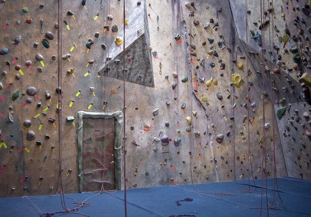 Pořádná lezecká stěna potěší každého Berana. Foto: