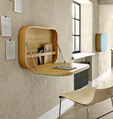 Vyklápěcí stůl navíc může posloužit i jako další úložný rpostor!  Foto: