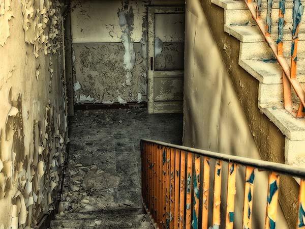 Test - staré schodiště Foto: