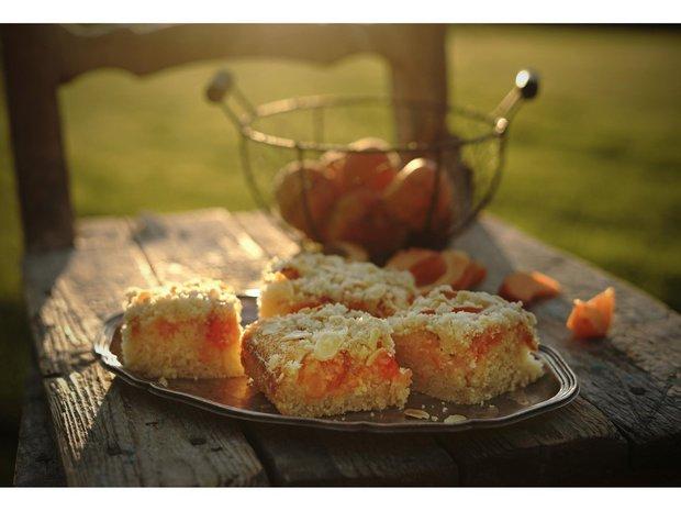 Meruňkový koláč s drobenkou Foto: