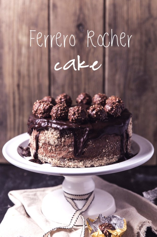 Ferrero Rocher Cake Foto: