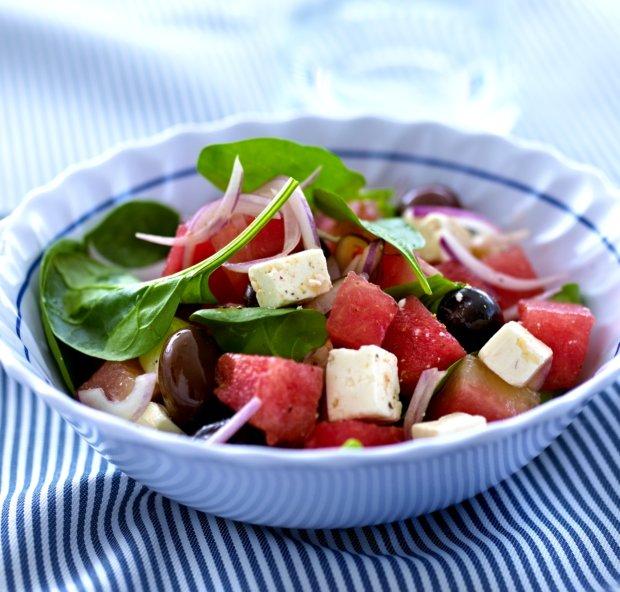 Osvěžující melounový salát  Foto: