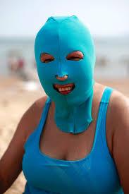 Obličejové plavky v Číně - Obrázek 14 Foto: