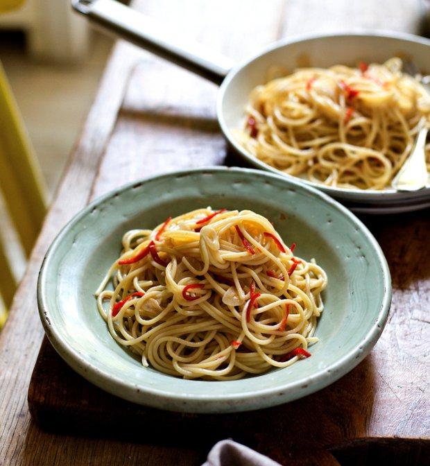 Spaghetti Aglio, Olio e Peperoncino  Foto: