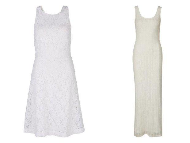 Esprit, šaty vlevo 1699 Kč, vpravo 1999 Kč Foto: