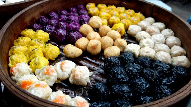 Za jídlem do Malajsie - knedlíčky Dim Sum Foto: