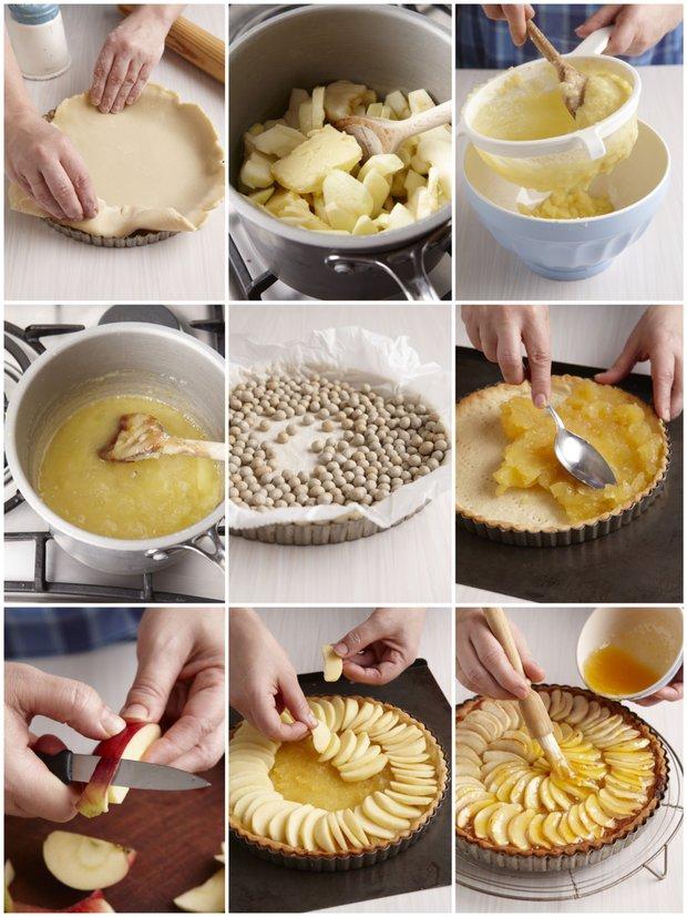 Francouzský jablečný koláč  Foto:
