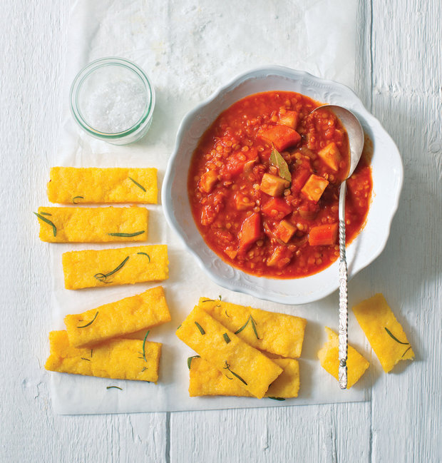 Červená čočka se zeleninou v rajské omáčce 2 Foto: