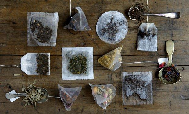 Různé typy čajových sáčků Foto: