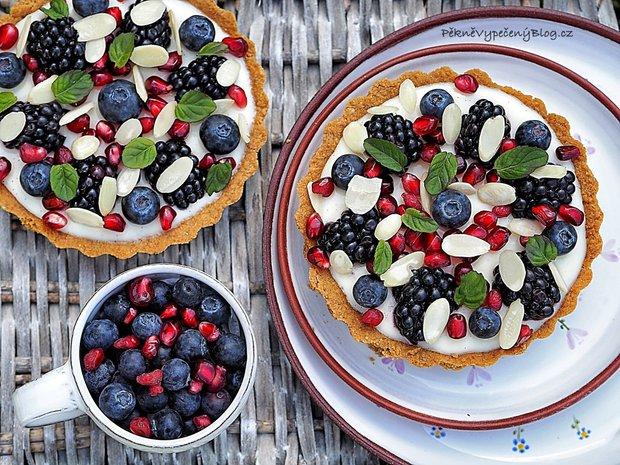 Tartaletky s domácím vanilkovým pudinkem a ovocem 2 Foto: