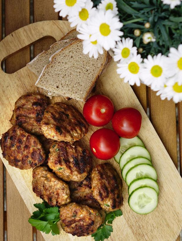 Karbanátky se zeleninou 2 Foto: