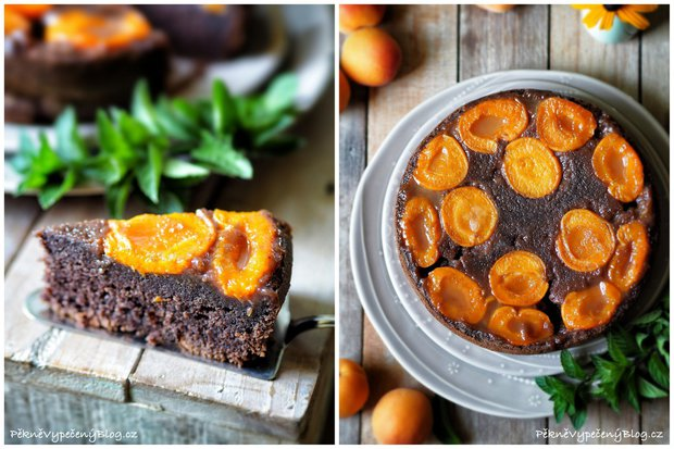 Obrácený koláč s meruňkami 2 Foto: