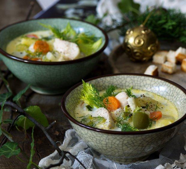 Severská rybí krémová polévka  Foto: