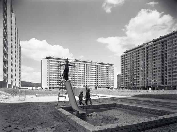 Sídliště sedmdesátých let Foto: