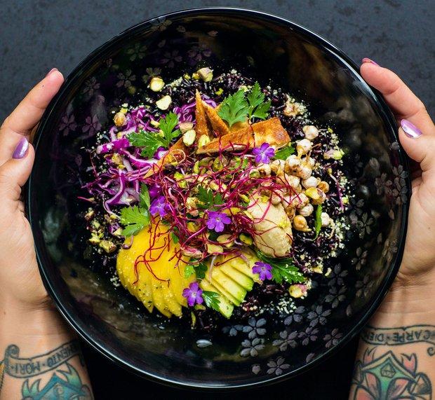 Nejbarevnější Budha bowl  Foto: