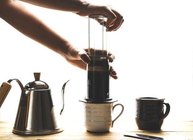 Připravte si doma kávu jako z kavárny: Aeropress Foto: