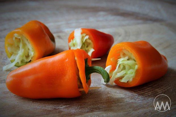 Papriky plněné zelím Foto: