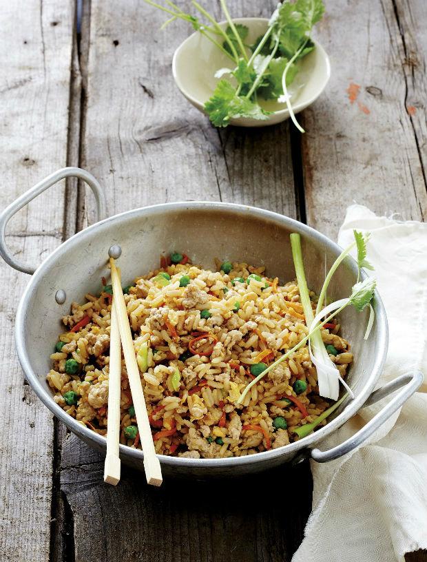 Smažená vepřová rýže Foto: isifa.com