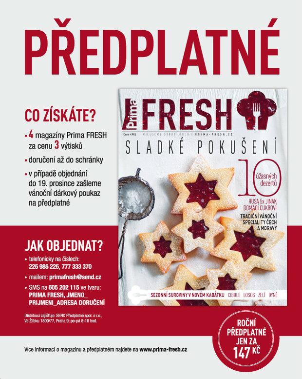 Časopis Prima FRESH 5 Foto: