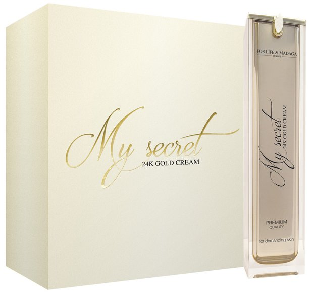 My secret Gold cream Foto: