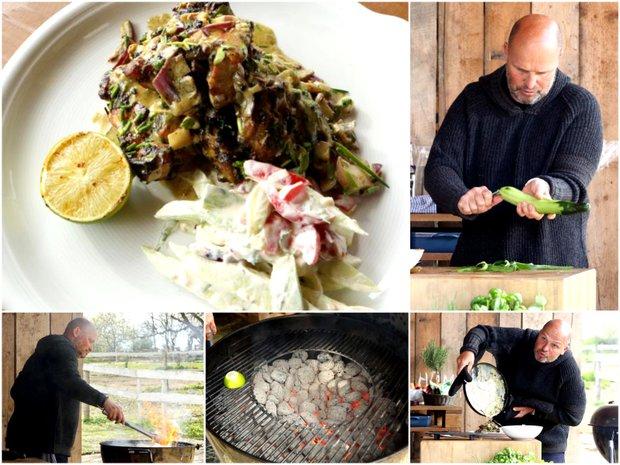 Kuře tikka masala s okurkovou rajtou  Foto: