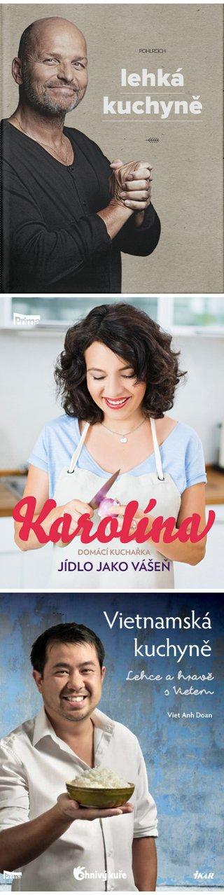 Soutěž o 3 novinkové kuchařky 2 Foto: