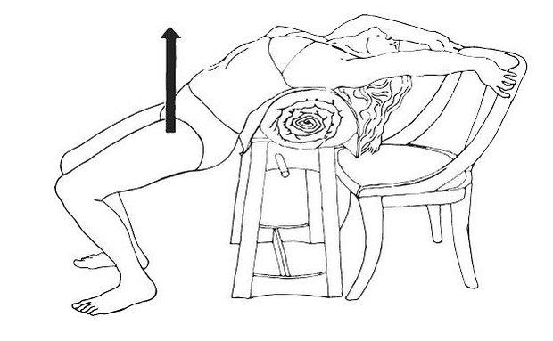 Cvičení zaměřená na sexualitu houpačka Foto: