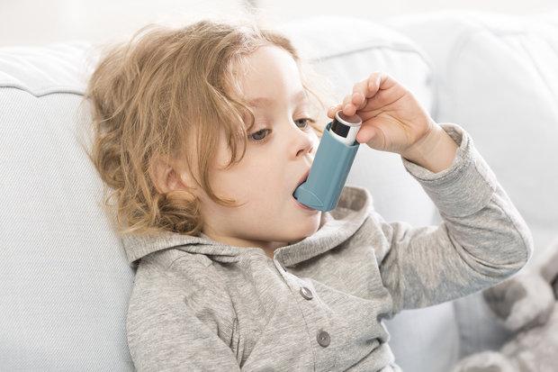 dítě astma Foto: