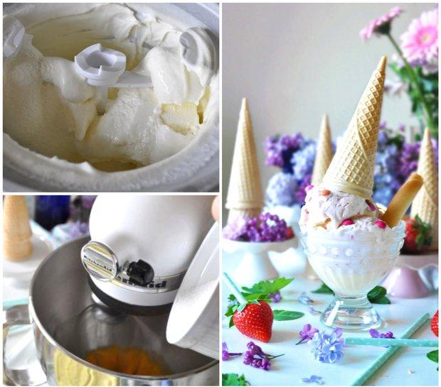 Lahodná jahodová zmrzlina ze tří ingrediencí  Foto: