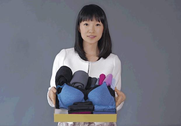 Japonská expertka na úklid Marie Kondo. Foto: