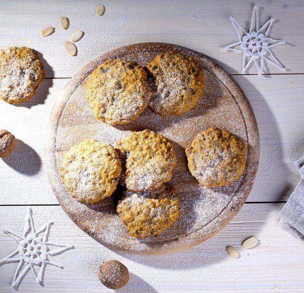 Mrkvové sušenky s ovesnými vločkami  Foto: