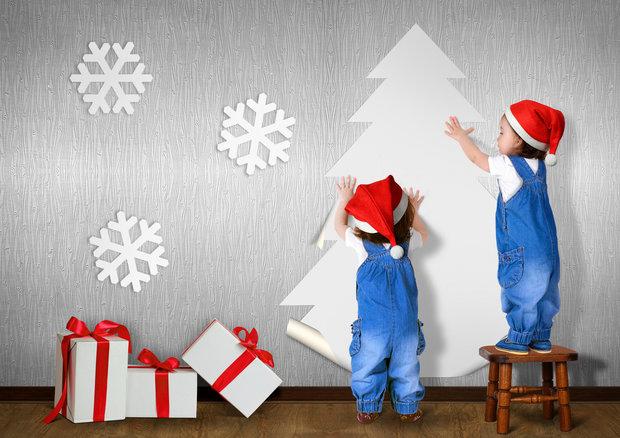 Zapojte do dekorování děti. Foto: