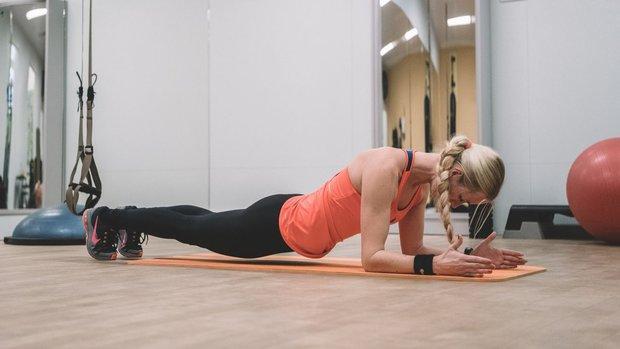Velký speciál: Zhubněte a dostaňte se do formy #1 plank ne 1 Foto: