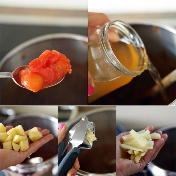 Hovězí guláš s paprikou a rajčaty 3 Foto: