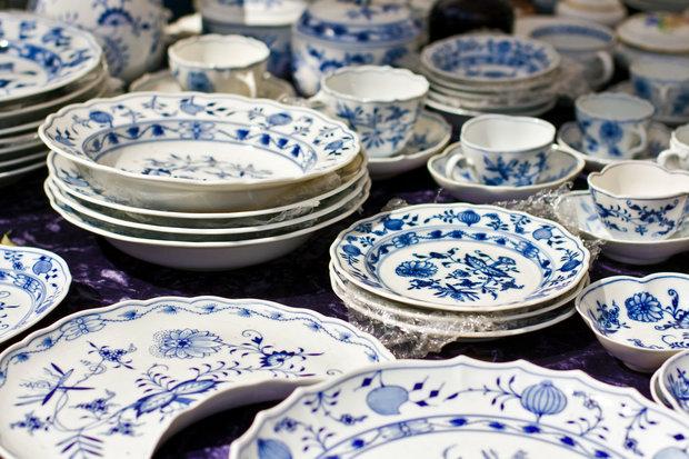 Porcelánový servis je poklad. Foto:
