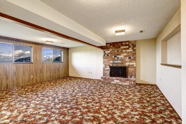 """Koberec po celé ploše podlahy je zlo...obzvlášť s nějakým """"hezkým"""" vzorem Foto:"""