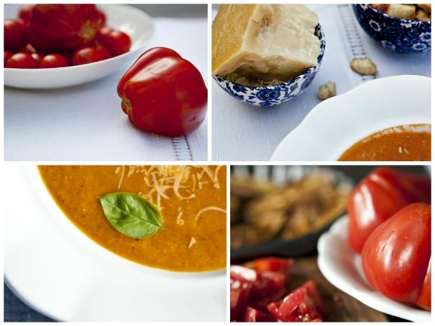 Lilková polévka s parmezánem Foto: Kitchenette.cz